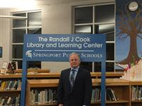 Springport Superintendent Randy Cook