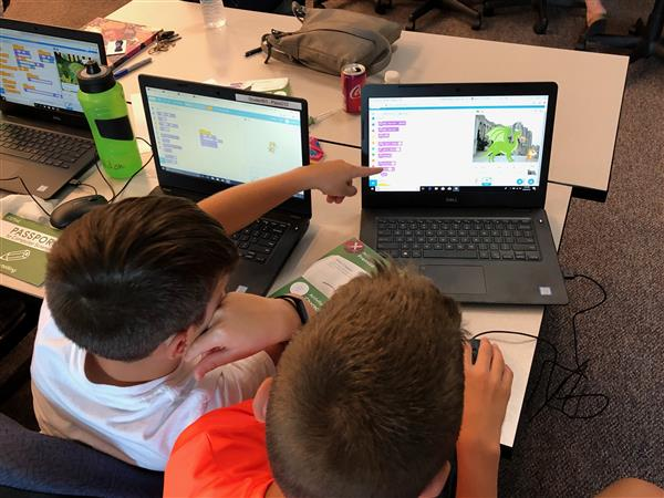 Summer coding camp immerses students, teachers in technology-based projects