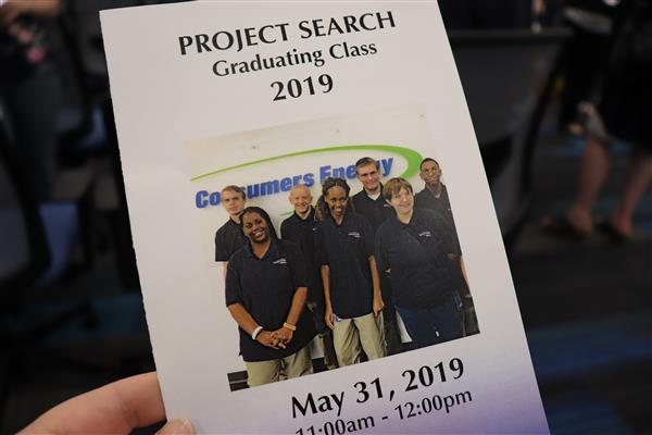 project search graduation