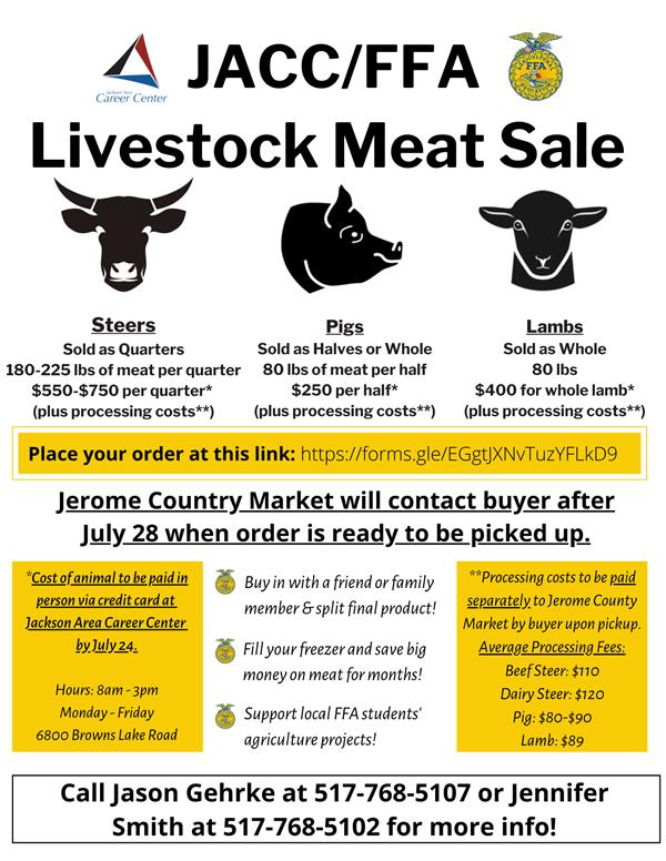meat sale flyer