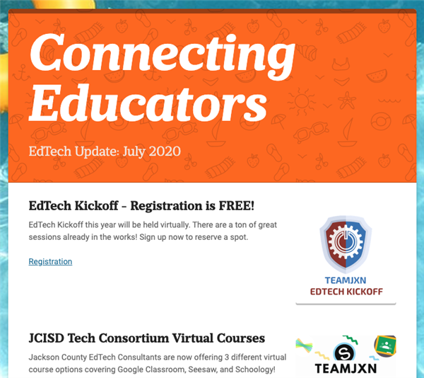 Connecting Educators - 7/8/2020