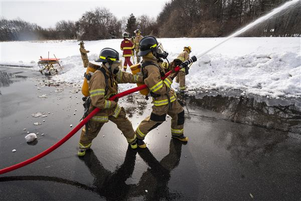 Firefighting/EMS students