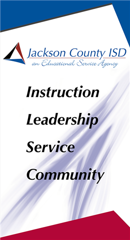 JCISD Banner with Instruction Leadership Service and Community Boldly Displayed