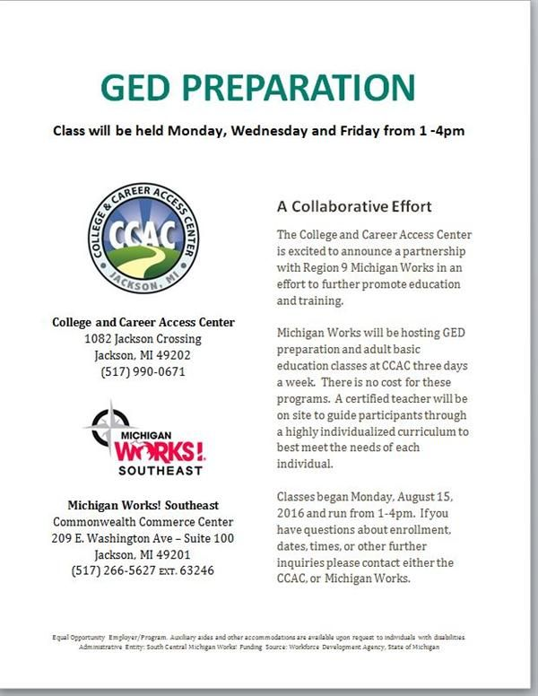 GED Flyer